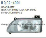 KIAの自尊心の2003年のセダン車のための自動予備品ヘッドランプ。 直接工場。 Kk12A-51030 /Kk12A-51040