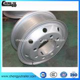軽トラックのトレーラーの鋼鉄車輪はタイヤのサイズ8.25-20のための6.5-20に縁を付ける