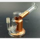 5.9 pollici del nuovo metallo del mestiere di tubo di acqua di vetro