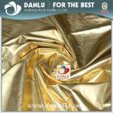 Охраны окружающей среды серебро и золото ткань с покрытием из полиэстера Pongee