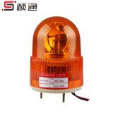 Foco profissional da fábrica na luz de advertência revolvendo do âmbar Lte-1105