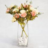 prix d'usine Vase en verre clair pour mariage/Vase de fleurs/pot de fleur/ (JINBO. 11)