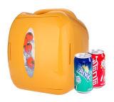 Electronic Mini frigorífico 8 litro DC12V, AC100-240V em ambos o aquecimento e refrigeração para carro, em casa, no escritório
