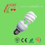 Tricolor Serie T3 La mitad espiral de la lámpara ahorro de energía