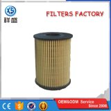De alta calidad de suministro de la fábrica de papel de filtro de aceite de motor Stright 73500049 OEM Hu713/1X Ox371D E60HD110 CH9713eco