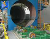 Interior/exterior del tubo de acero de las paredes de la máquina de granallado Shot/Óxido quitar la máquina