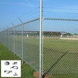 Nous frontière de sécurité de maille de maillon de chaîne pour le dép40t de jardin