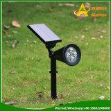 Garten-Rasen-Lampen-Landschaftswand-Solarlichter guter der Preis-Scheinwerfer-wasserdichte IP65 im Freien Beleuchtung-LED helle