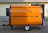 De mobiele Vrachtwagens van het Snelle Voedsel van de Vrachtwagen van het Snelle Voedsel Witte voor Verkoop/de Mobiele Staaf van het Sap