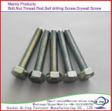 Galvanized Hex Head Bolt DIN 933/931 Carbon Steel