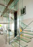 vetro Tempered di 10mm con il foro per la stanza da bagno o il pavimento