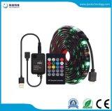 Tira LED USB 5050 RGB con controlador de música 20LLAVE MANDO RF