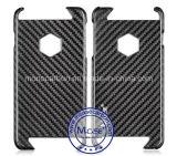 Buena calidad verdadera del carbón material de fibra para más la caja de 6 iPhone