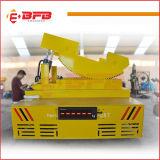De Aanhangwagen van het Spoorwegvervoer van het lage Voltage Voor de Lading van de Overdracht op Sporen