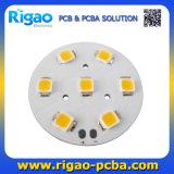 Circle MCPCB com LEDs de acordo com o arquivo Gerber