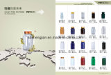 De de hete HDPE van de Verkoop 60ml Witte Plastic Geneeskunde van de Fles/Fles van de Pil