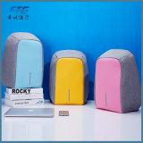 Anti-roubo personalizada mochila portátil à prova de porta de carga USB