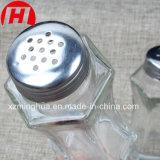 Frasco de vidro quente do abanador do uso 80ml do condimento da venda para a pimenta