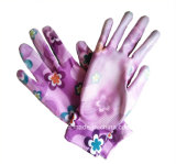 PU покрытием нейлоновые антистатические перчатки рабочие перчатки