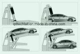 Порошковое покрытие наклон автостоянка для подъема/управление/Home/больница/Торгового Центра