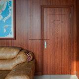 Fuego de madera interior compuesto de plástico resistente al agua de la puerta de WPC
