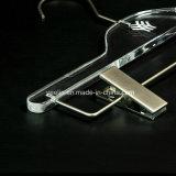Cintres acryliques de luxe personnalisés de logo (YL-ya01)