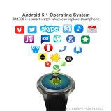 montre intelligente de système androïde du WiFi 3G avec la fréquence cardiaque (DM368)