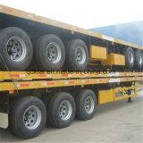 Cimc 40 pies de cama plana Container semi remolque en Africa