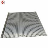 Rideau de protection en aluminium ci-dessous couvercle avec les bandes en caoutchouc pour voies de guidage de la machine