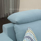 Sofà d'angolo del tessuto impostato per la mobilia del salone