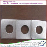 Raccords idéal rondelle carrée en acier inoxydable