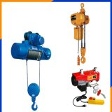 CD1 Workshop Used Winch Hoist for Salts with Rope Guide