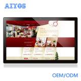 De vierling-Kern van 17.3 Duim van de douane Beste OEM LCD van PC van de Tablet Interactieve Adverterende Spelers