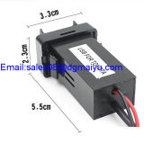 USB Port Socket Charger di 1.2A +2.1A Car Styling Original Position Dual per Toyota Corolla/Camry/RAV4/Yaris ecc Lexus Es350
