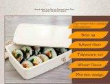 Multi caixa de almoço biodegradável original Eco-Friendly da fibra do trigo de Bento da função