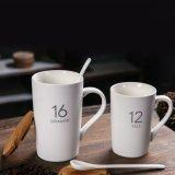 Custom tasse tasse en céramique blanc ordinaire pour la céramique tasse à café