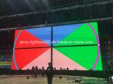 フットボール競技場屋外のフルカラーP10 LED表示LEDスクリーン