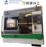 Lit oblique de la tourelle tourneur CNC Tool & Tour pour le découpage des métaux Tck6350