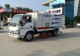 Motor Isuzu 5t Passeio Sweeper 4X2 sucção sujo e limpeza do veículo