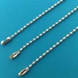 工場は2.4mmのより安い銅の金属球の鎖のネックレスを供給する