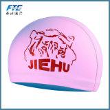 大人の子供の子供伸縮性があるファブリック防音保護具のスポーツの水泳の帽子