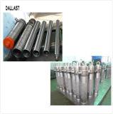 La tubería hidráulica de cromo del vástago del pistón del vástago del cilindro de acero inoxidable de vástago del cilindro hidráulico