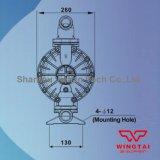 Тип Explosionproof 379л/мин двойной путь пневматический мембранный насос для промышленности