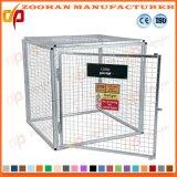 Запираемые стали безопасности газовый баллон отсек для хранения проволочной сетки (Zhra10)