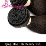 Haut de la qualité Lilibeautyltd Remy Hair Extension brésilien Cheveux humains Bundles