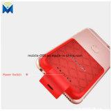 Mini batterie de sauvegarde de remplissage de paquet d'alimentation externe du cas 2200mAh pour le mobile d'IOS d'iPhone