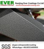 Metallisches Silber-geklebte Puder-Beschichtung