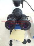 В ВЕРТИКАЛЬНОМ ПОЛОЖЕНИИ Trinocular флюоресценция микроскопа (LF-302)