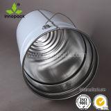 25L付着力のパッキンググリースの錫のバケツのための金属のハンドルが付いている円形の金属のバケツ