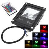 Dlc 세륨 SAA 10W IR Outdoor RGB LED Floodlight